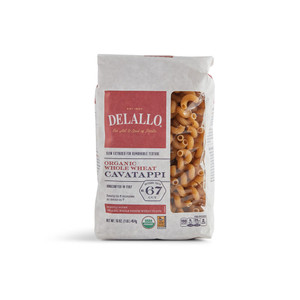DeLallo Organic Whole-Wheat Cavatappi Pasta 1 lb.