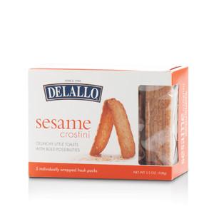 DeLallo Sesame Crostini Toasts 3.5 oz.