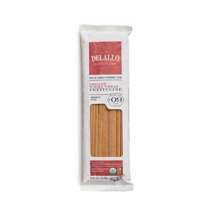 DeLallo Organic Whole-Wheat Fettuccine Pasta  1 lb.