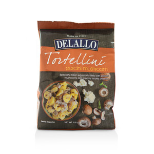 DeLallo Ricotta & Mushroom Tortellini Filled Pasta 8.8 oz.