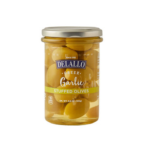 DeLallo Garlic Stuffed Olives in Jar