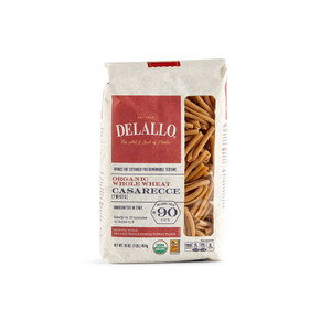DeLallo Organic Whole-Wheat Casarecce 1 lb.
