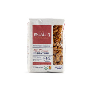 DeLallo Organic Whole-Wheat Radiatori 1 lb.