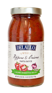DeLallo Sweet Peppers & Onions Pasta Sauce