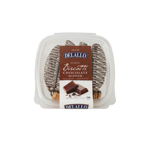 DeLallo Chocolate Dipped Biscotti