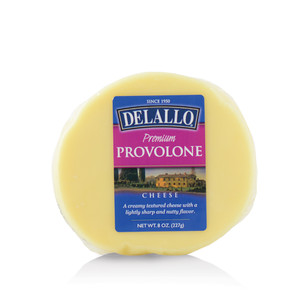 DeLallo Domestic Provolone Cheese Wedge 8 oz.