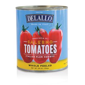 DeLallo Imported Italian Salerno Plum Tomatoes  90 oz.