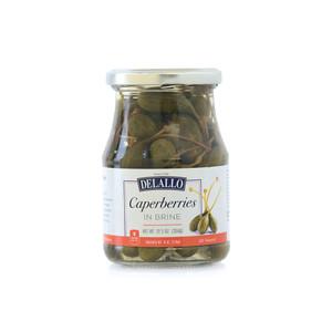 DeLallo Caperberries in Brine 12.5 oz.