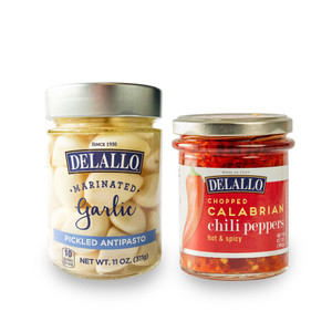 Pickled Garlic and Calabrian Chili Peppers