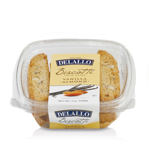 Vanilla Almond Biscotti.