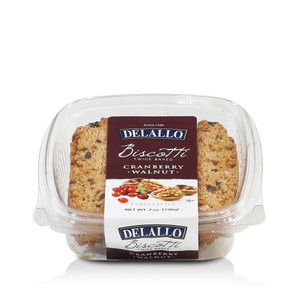 DeLallo Cranberry Walnut Biscotti  7 oz.