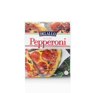 DeLallo Sliced Pepperoni 6 oz.