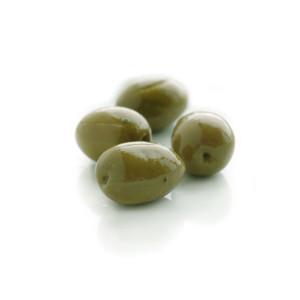 DeLallo Jumbo Sicilian Style Green Cracked Olives