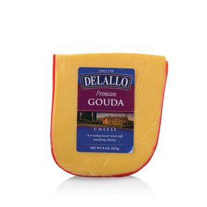 DeLallo Gouda Cheese Wedge 8 oz.