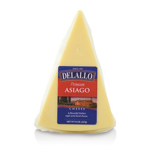 DeLallo Asiago Cheese Wedge 8 oz.