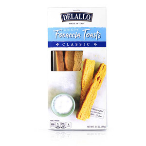 DeLallo Classic Focaccia Toasts 3.5 oz.