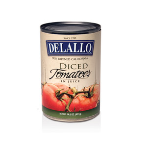 DeLallo Diced Tomatoes in Juice  14.5 oz.
