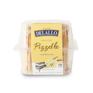 DeLallo Vanilla Pizzelle 6 oz.