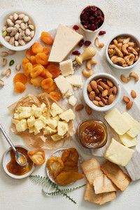 Cheese, Fruit and Nut Gift Box