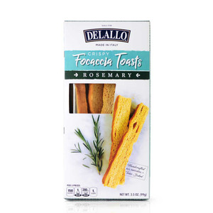 DeLallo Rosemary Focaccia Toasts 3.5 oz.