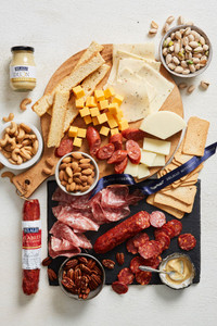 Italian Meat and Cheese Gift Basket
