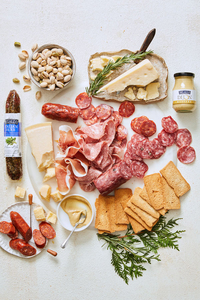 Italian Charcuterie Meat and Cheese Gift Baskets