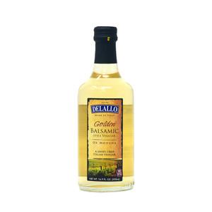 DeLallo Golden Sweet Balsamic-Style Vinegar 16.9 oz.