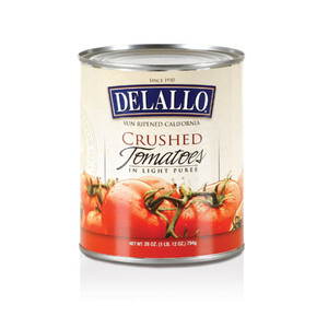 DeLallo Crushed Tomatoes in Light Puree  28 oz.