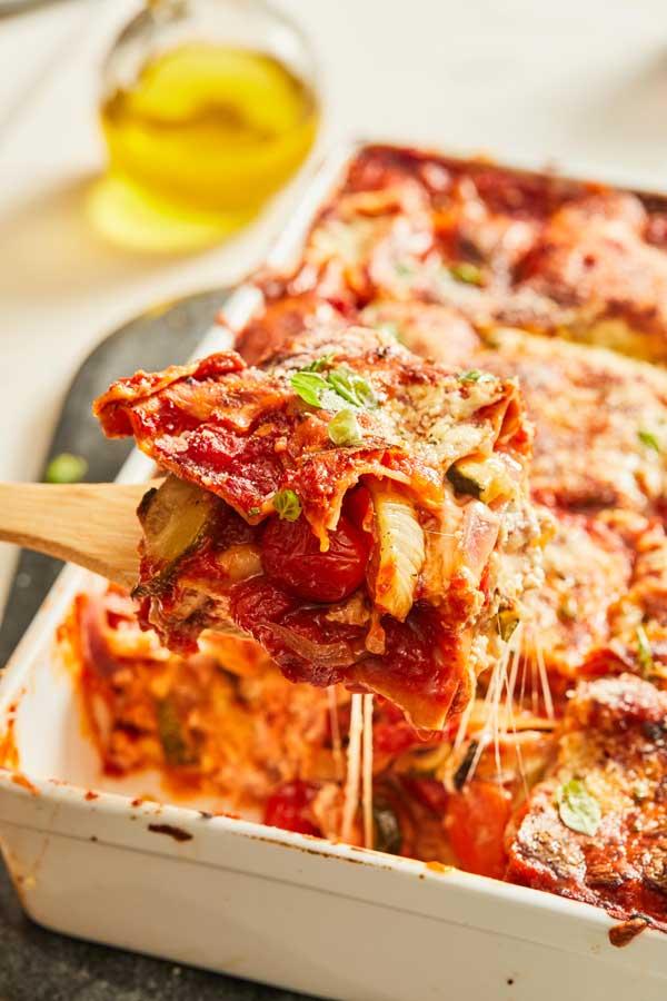 Best Vegetarian Lasagna