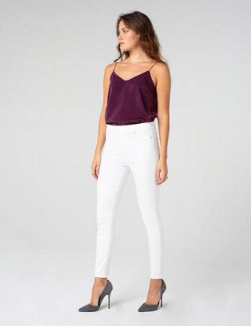 "LIVERPOOL CHLOE ANKLE SKINNY 28"" WHITE 2208"