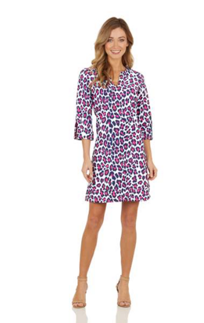 JUDE CONNALLY MEGAN LEOPARD NAVY/BERRY 101111