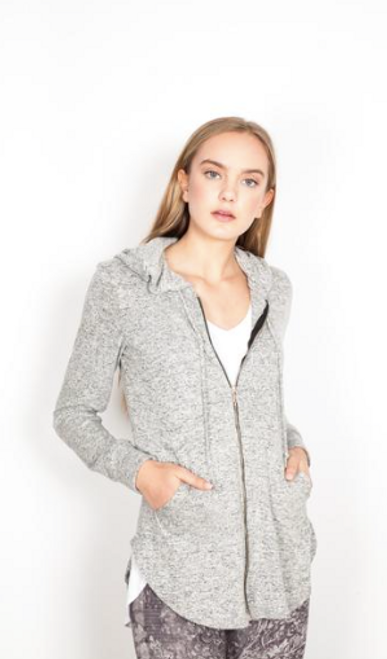SP NEEMA HOODIE HEATHER GREY 584