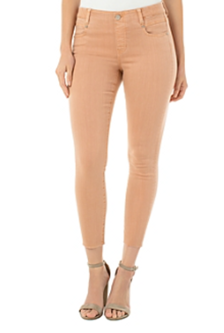 LIVERPOOL GIA GLIDER CROP DUSTY CORAL 27 338F81
