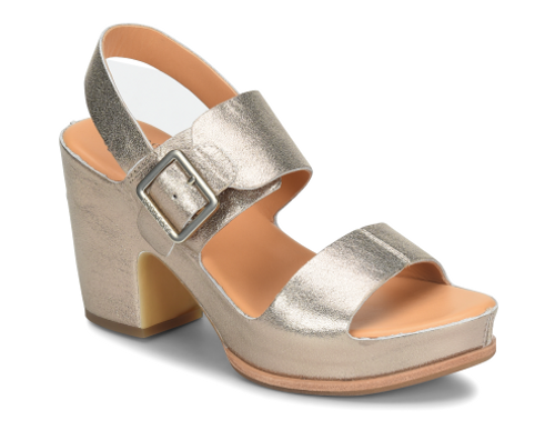 KORK EASE SAN CARLOS SOFT GOLD METALLIC