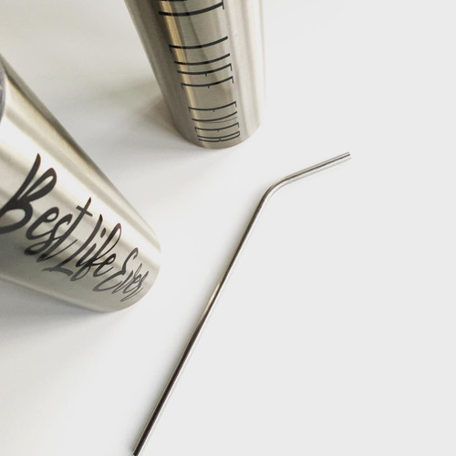Re-usable Stainless steel straw