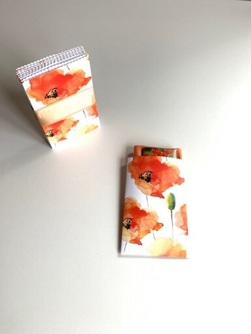 Poppy Design Handmade Gift Card/ Wedding Favor Paper Pouches