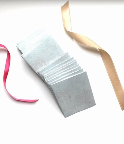 Sage Vintage Paper Handmade Gift Card/ Wedding Favor Pouches