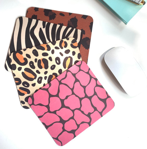 Fun Animal Print Mini Mouse pads
