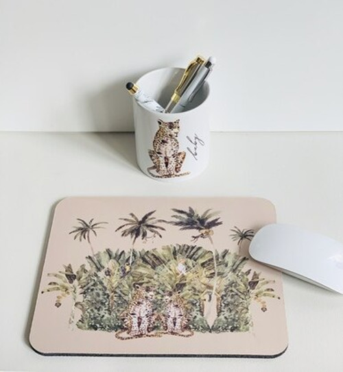 Leopards in Paradise Mousepad