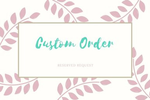 Custom Logo Bags - Reserved Request for Grace