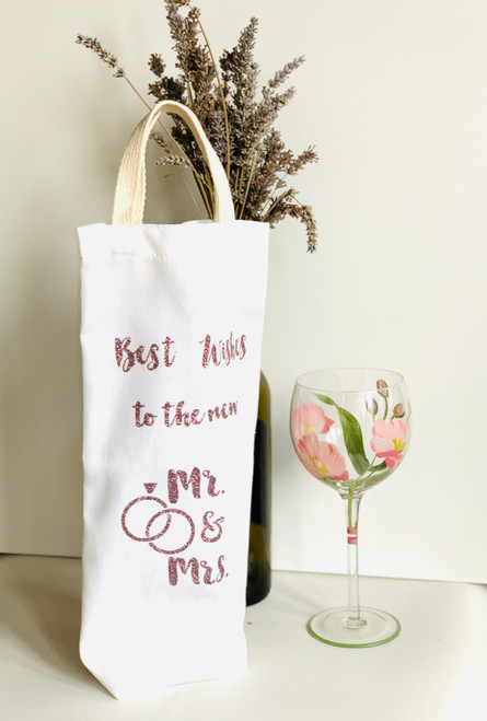 Best Wishes Wine Tote - New Mr. and Mrs.