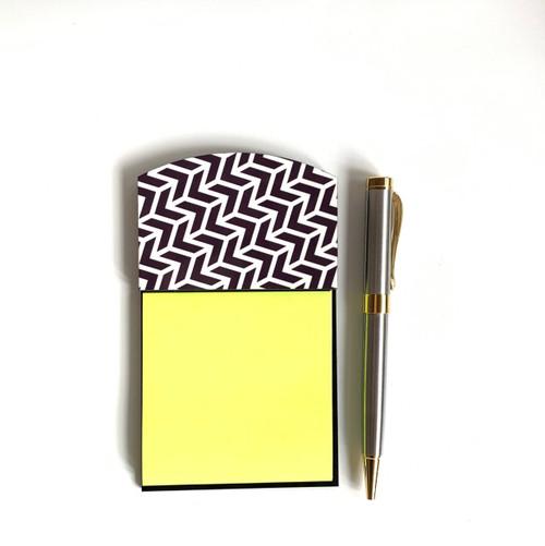 Gray Arrow Sticky Note Holder