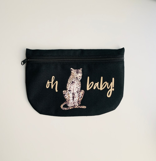 Oh baby! Leopard Cosmetic Bag