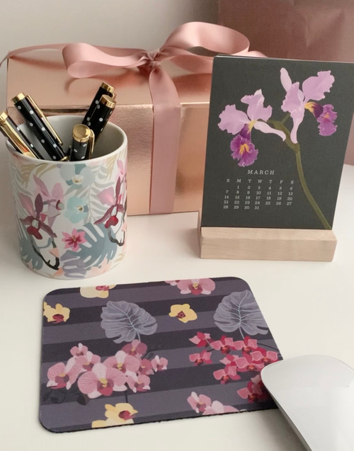 Orchid Desk Gift Set
