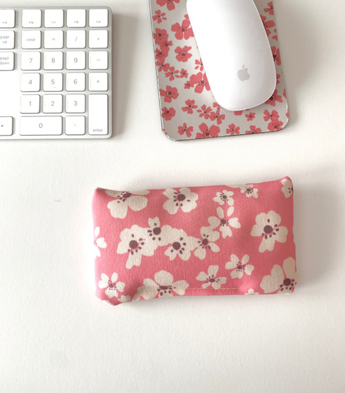 So Pink the Meadows Wrist Rest Cushion