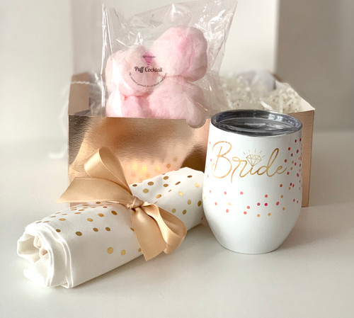 Bridal Sweet Box featuring Puff Delights