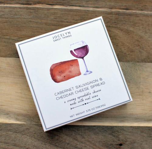 Luxe Collection Cabernet Sauvignon Cheddar Cheese Spread