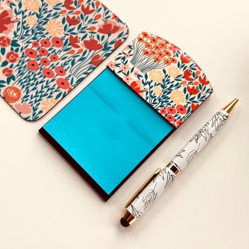 Lovely Meadows Sticky Note Holder