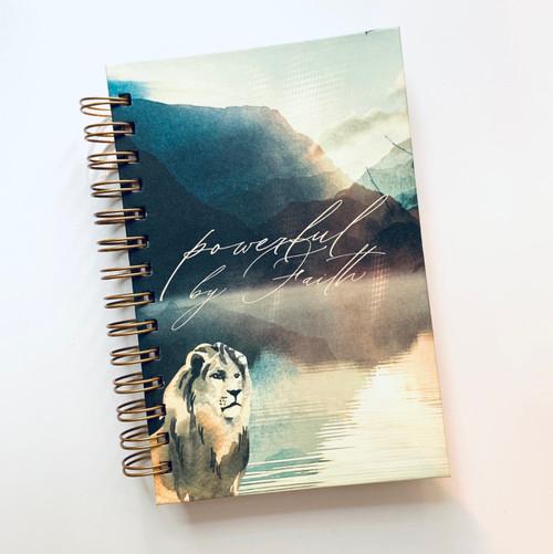 Powerful By Faith Notebook