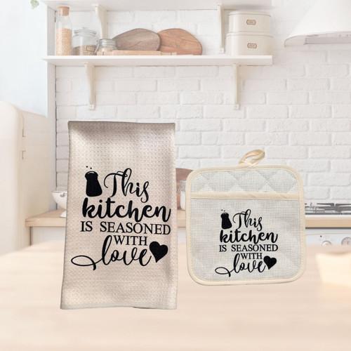 Seasoned with Love Kitchen Set